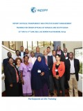 Report On Fiscal Transparency And Effective Budget Management; Training For Senior Officials Of Somalia And South Sudan;  31st of May – 3rd of June 2016