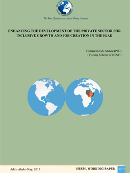 IGAD private sector paper- obstachles and potential