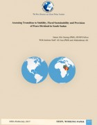 Assessing Transition to Stability, Fiscal Sustainability and Provision of Peace Dividend in South Sudan