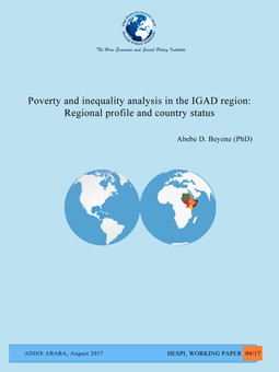 Poverty and inequality analysis
