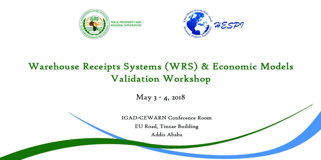 WRS Validation Workshop
