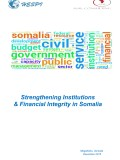 Strengthening Institutions and Financial Integrity in Somalia