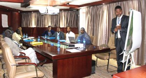 Training for selected Auditors of Somalia and South Sudan, may 2-8, 2016